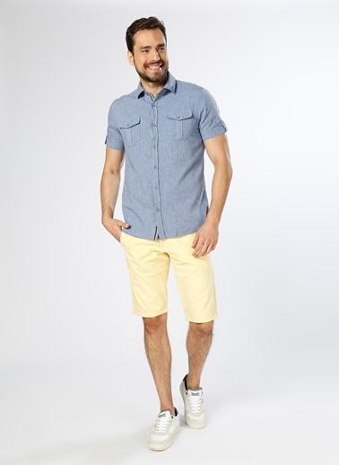 Limon Company Kısa Kollu Gömlek İndigo